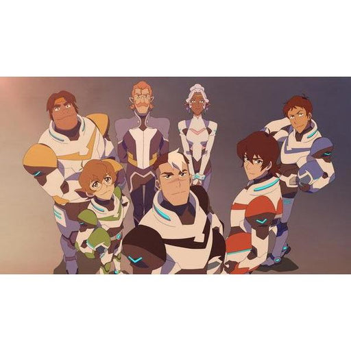 Wall Art - Voltron Poster Featuring Voltron Legendary Defender Series Characters