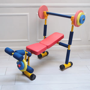 Kiddie Fitness Equipment - Bench Press
