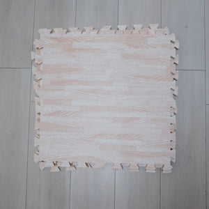 Wood design playmat
