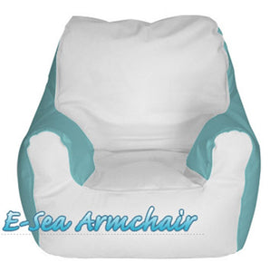 E-Sea Rider Armchair Marine Bean Bag Custom Colored
