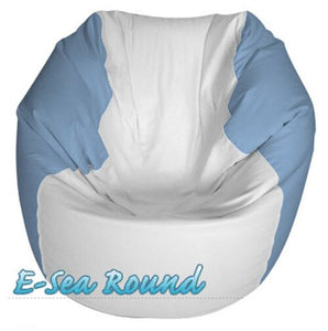 E-Sea Rider Round Marine Bean Bag Custom Colored