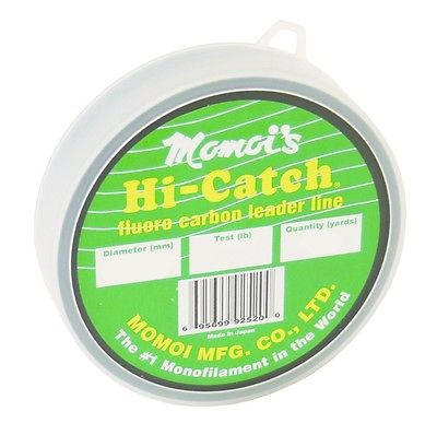 Momoi 25 Yard Hi-Catch Fluorocarbon Leader