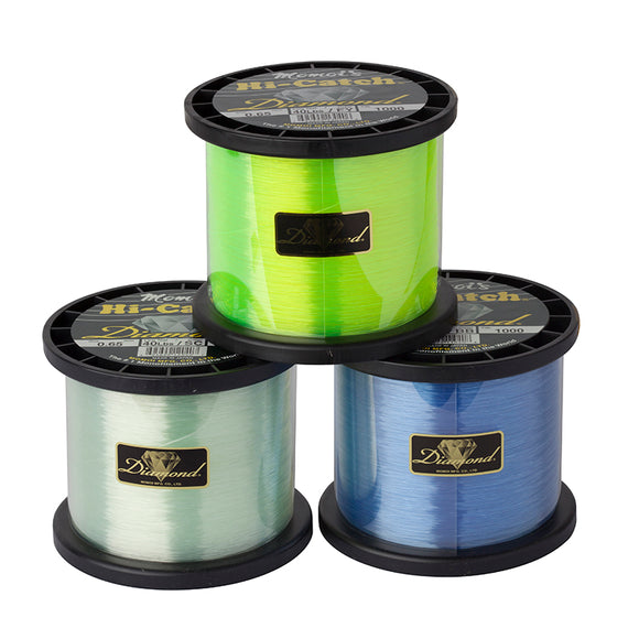 Momoi 2750 Yards Spools Diamond Monofilament Line - 100lbs