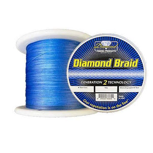 Momoi Diamond Braid - 2500 Yard Spool - Assorted Colors