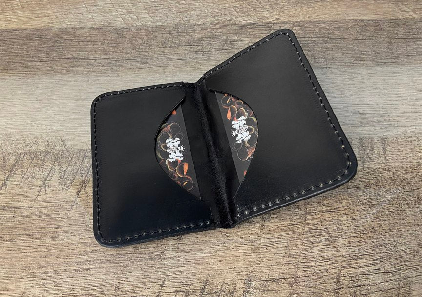 Card Wallet - Ltd. Edition Stingray and Shell Cordovan - Mitchell Leather