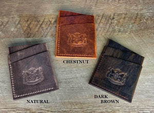 LWCW - Leather Wrap Wallet in Premium Horween Dublin