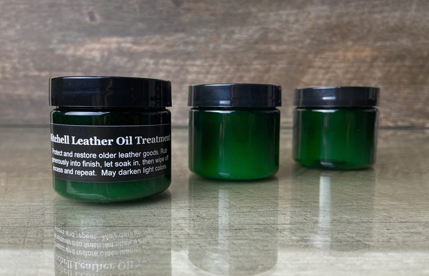 Leather Oil Treatment - Mitchell Leather
