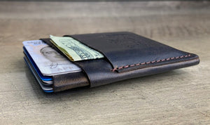 LWCW - Leather Wrap Wallet in Premium Horween Dublin - Mitchell Leather