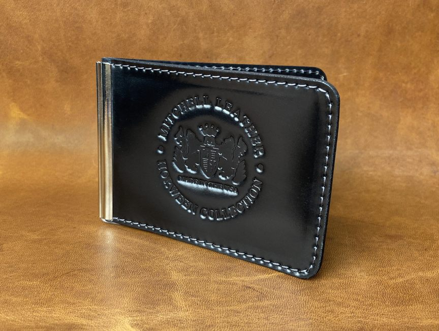 MCW- Premium Horween Black DOUBLE Shell Cordovan - Mitchell Leather