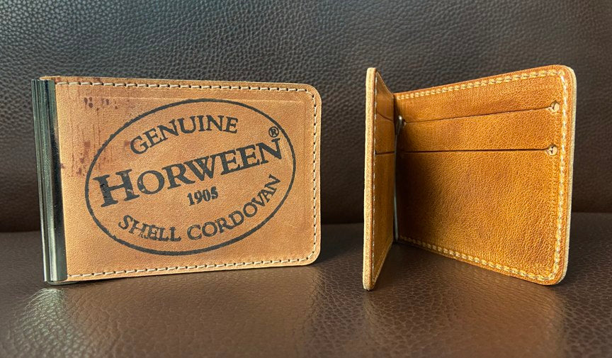 MCW - Reverse Tan Unfinished Shell Cordovan - Mitchell Leather