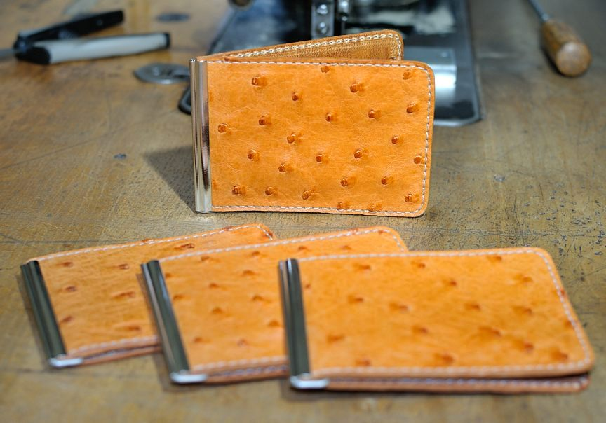 MCW- Limited Edition OSTRICH Skin - Mitchell Leather