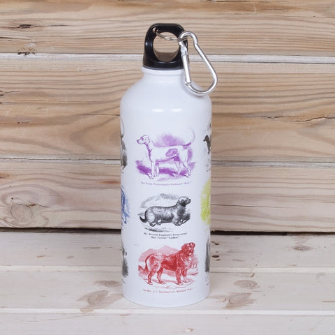 Vintage Canine Water Bottle