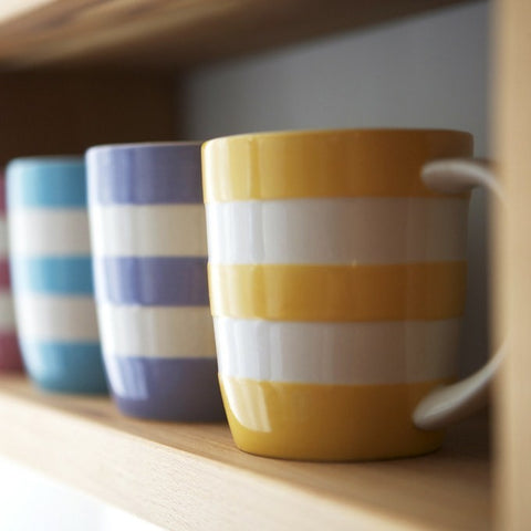 Pastel Stripy Mug Set