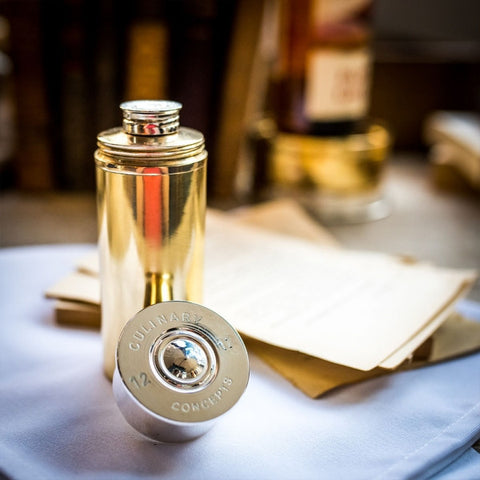 Cylindrical Hip Flask