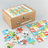 Animal Footprint Jigsaw