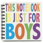 Boys Only Notebook