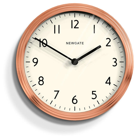 Spy Copper Wall Clock