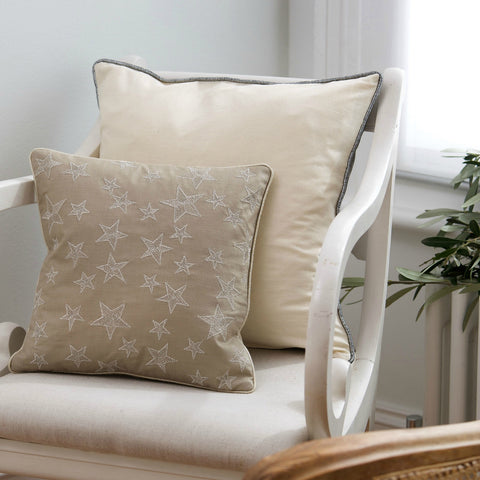 Starry Applique Cushion