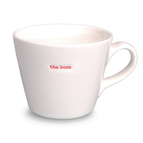 """The Boss"" Bucket Mug"