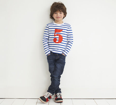 Boys Number T-Shirt
