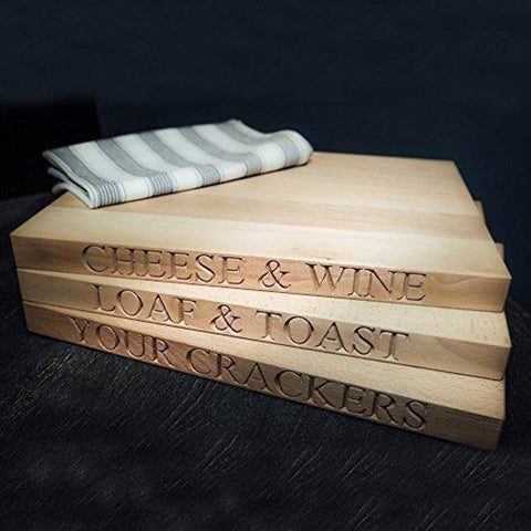 Chunky Wooden Cheese Board