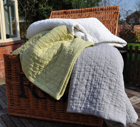 Chester Stonewashed Bedspreads