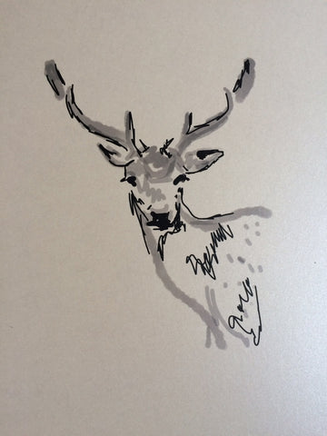 Stag A3 Print