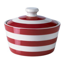 Cornish Red Butter Dish