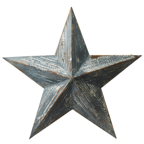 Large Wooden Hanging Stars