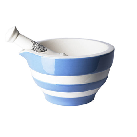 Cornishware Pestle & Mortar