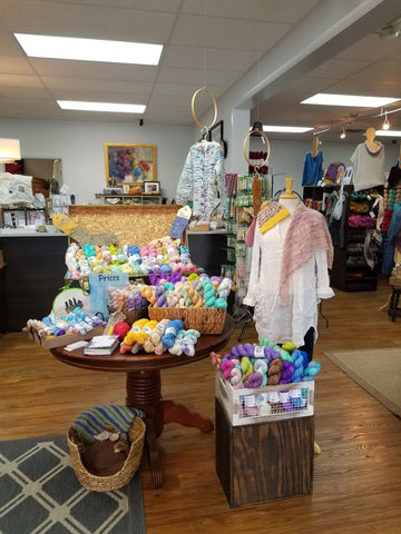 haus of yarn tennessee trunk show