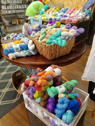 haus of yarn trunk show tennessee