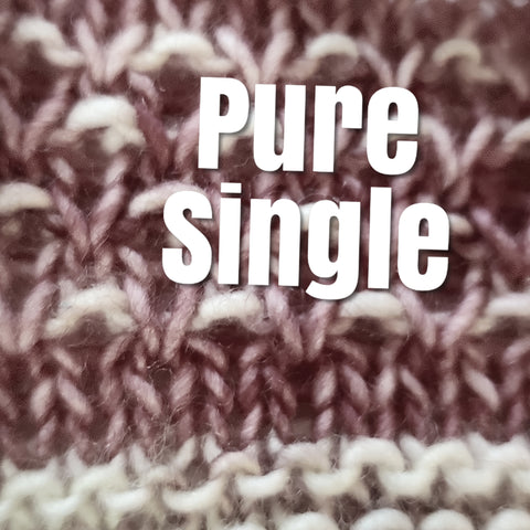 Pure Single - Sweater Lots Preorder - Any Colorway!