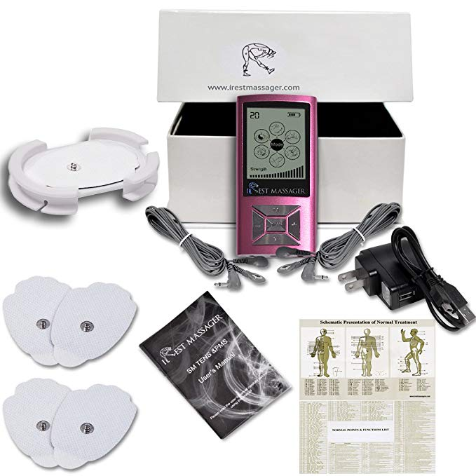 iRest SE Massager Tens Unit FDA 510k Cleared (PINK)