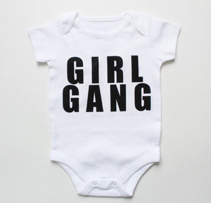 girl gang onesie