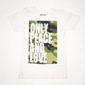 only peace and love