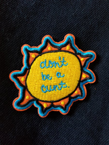 Don't Be a Cunt Patch