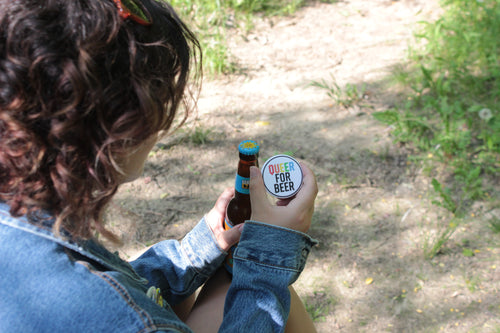 Queer for Beer Magnetic Bottle Opener