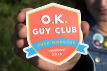 O.K. Guy Club Sticker