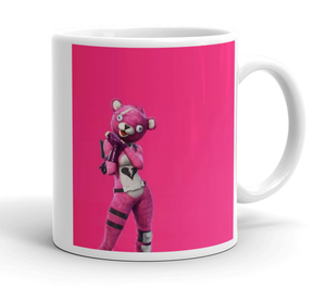 Creepy Bear Fortnite Mug - Cup