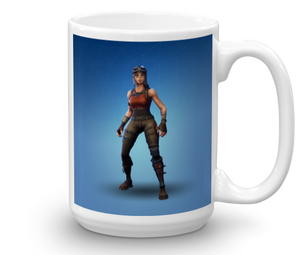 Renegade Raider Mug - Fornite Coffee Cup