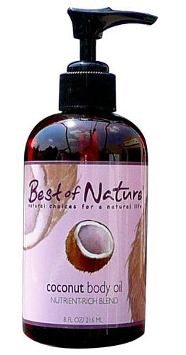 Coconut Body Oil - Spa & Bodywork Market