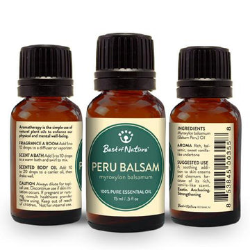 Peru Balsam Essential Oil - Spa & Bodywork Market