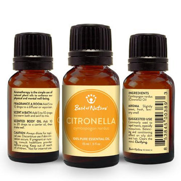 Citronella Essential Oil - Spa & Bodywork Market