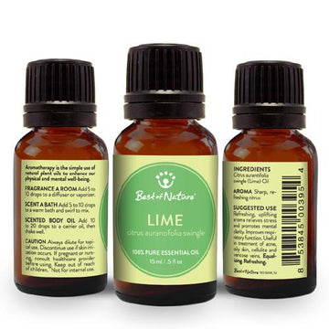 Lime Essential Oil - Spa & Bodywork Market