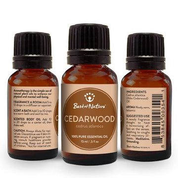 Cedarwood Atlas Essential Oil - Spa & Bodywork Market