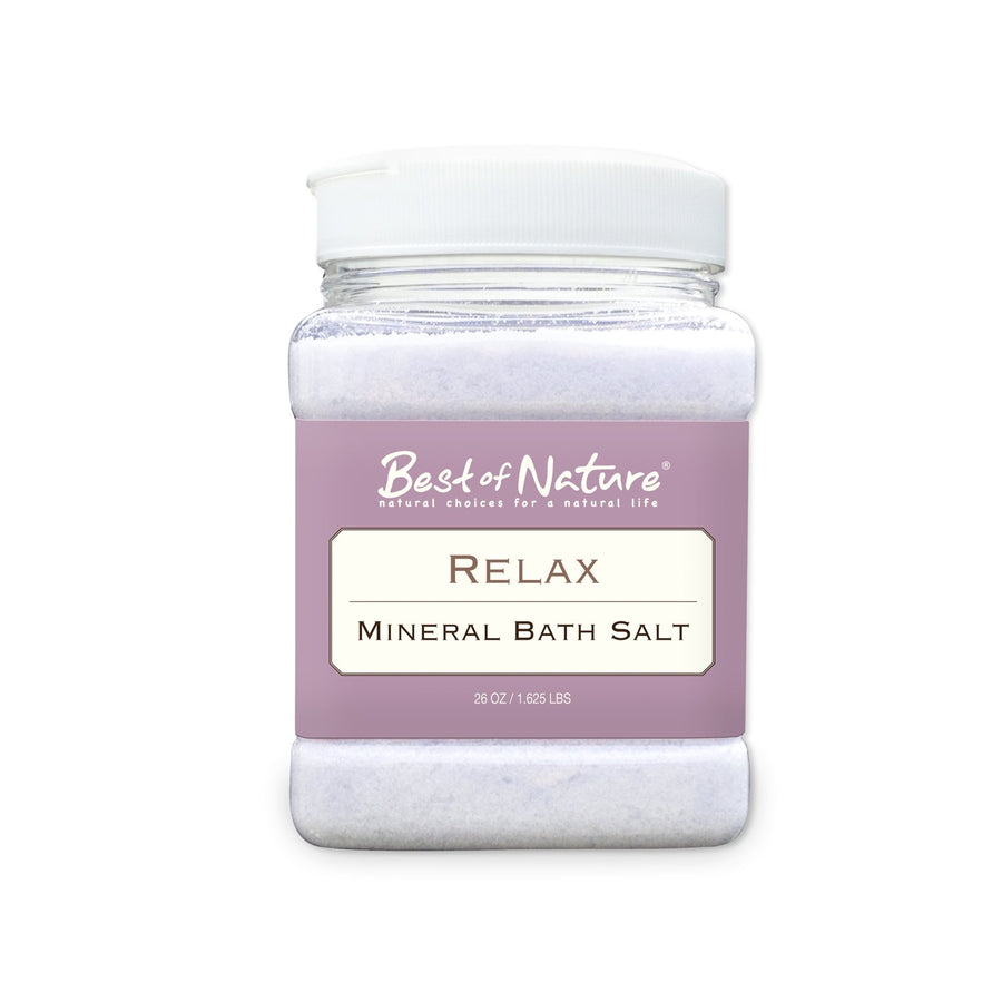 Relax Mineral Bath Salt - Spa & Bodywork Market