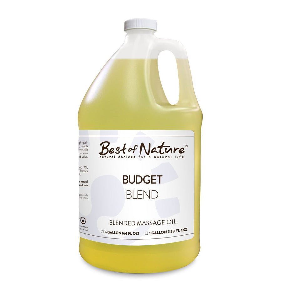 Budget Blend Massage Oil - Spa & Bodywork Market