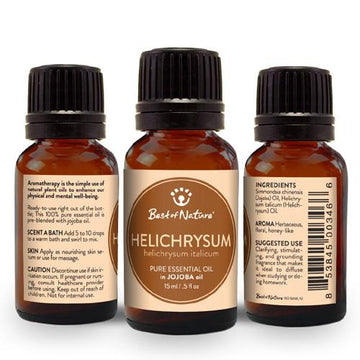 Helichrysum Essential Oil blended with Jojoba Oil - Spa & Bodywork Market