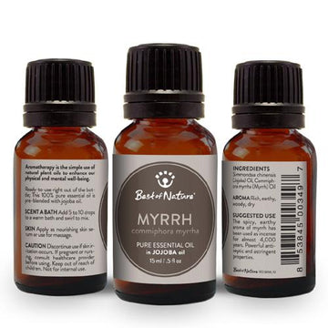 Myrrh Essential Oil blended with Jojoba Oil - Spa & Bodywork Market